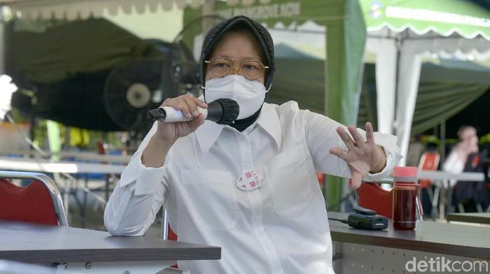 Wali Kota Risma ingin membuka kembali Kebun Binantang Surabaya (KBS), setelah ditutup selama pandemi COVID-19. Namun sebelum itu, Risma ingin protokol kesehatan benar-benar diterapkan.