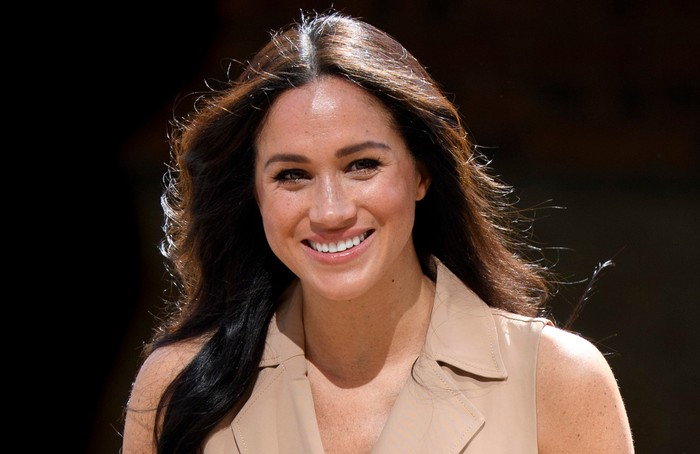 JOHANNESBURG, SOUTH AFRICA - OCTOBER 01:  Meghan, Duchess of Sussex, Patron of the Association of Commonwealth Universities (ACU) visits the University of Johannesburg on October 1, 2019 in Johannesburg, South Africa.  (Photo by Tim Rooke - Pool/Getty Images)