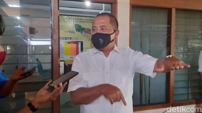 Bupati Karanganyar Juliyatmono, Rabu (22/7/2020).