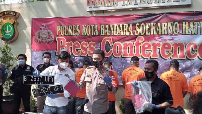 Ditangkap Polisi, 6 Pencuri Shower Tak Tahu Sasarannya Adalah Kantor Polisi