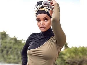 Halima Aden Kembali Jadi Model Baju Renang Muslimah untuk Sports Illustrated