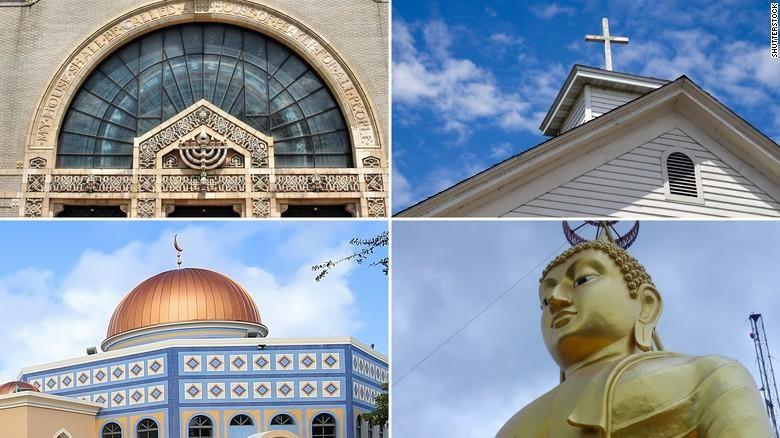 Ilustrasi berbagai agama