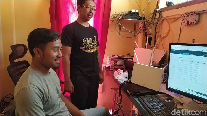 Internet di Kampung Cilimushideung, Garut