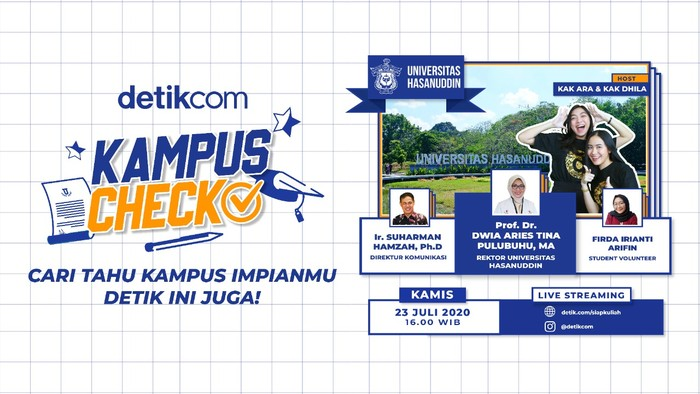 Kampus Check detikcom, edisi Unhas