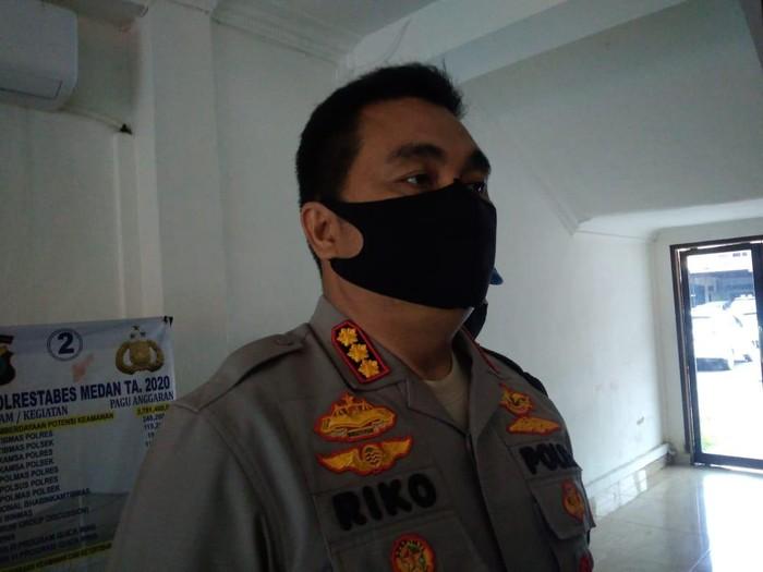 Kapolrestabes Medan, Kombes Riko Sunarko (Datuk Haris Molana-detikcom)