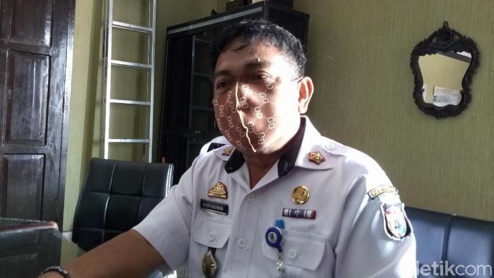 Kepala Badan Kepegawain Daerah (BKD) Kota Makassar Basri Rahman (Ibnu Munsir-detikcom).