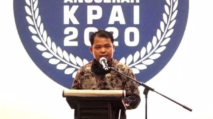 Ketua KPAI dalam acara Anugerah KPAI 2020