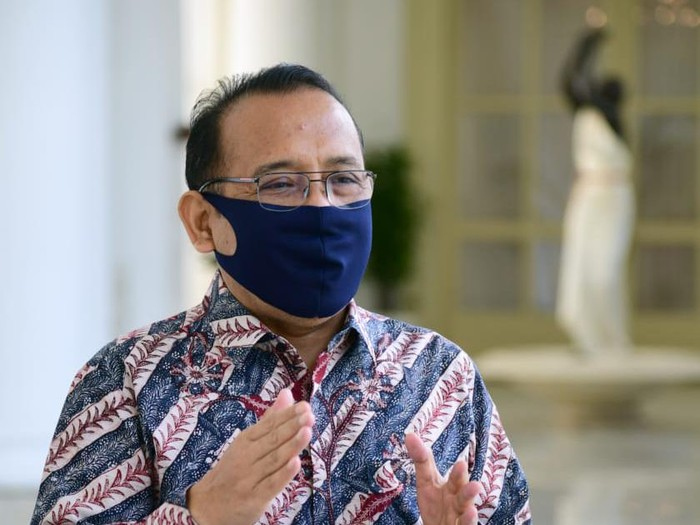 Mensesneg Pratikno (Muchlis Jr/Biro Pers Sekretariat Presiden)