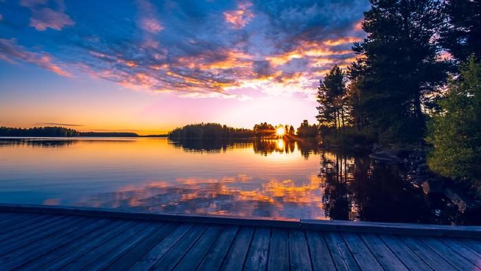 Midnight Sun di Finlandia