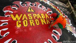 Indonesia Catatkan 127.083 Kasus Corona, 5 Provinsi Ini Nihil Kasus Baru Per 10 Agustus