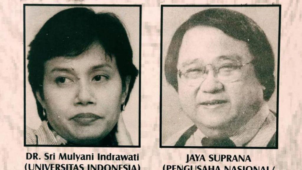Kenang Foto Seminar 1998, Sri Mulyani: Pengundang dan Sponsor Pak Jokowi