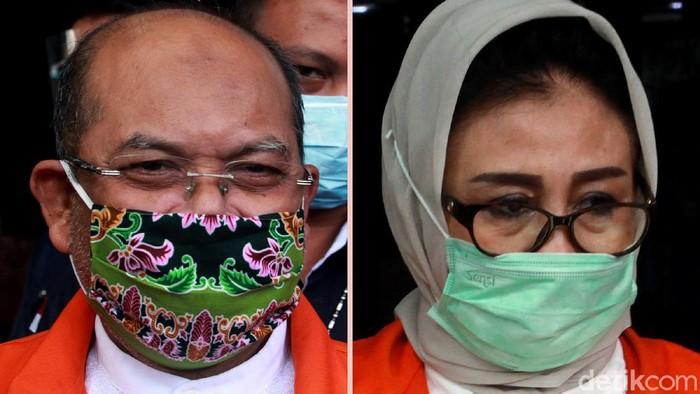 Pasangan suami-istri Ismunandar dan Encek UR Firgasih kembali diperiksa KPK. Keduanya diperiksa terkait kasus suap proyek infrastruktur yang menjerat keduanya.