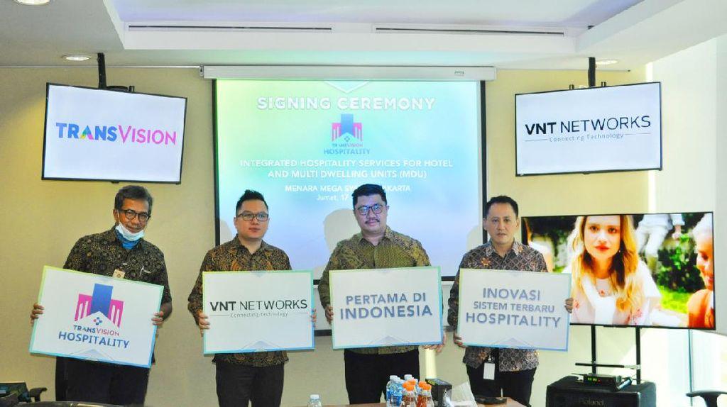 Transvision Tawarkan Solusi untuk Perhotelan dan Apartemen