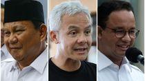 Survei Kandidat Capres Favorit: Ganjar-Prabowo Naik, Anies Stagnan