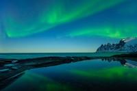 Pulau Senja jadi salah satu tempat terindah di bumi untuk melihat Aurora. (Getty Images/iStockphoto)