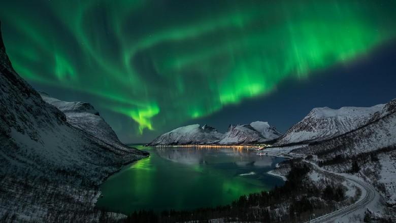 Pulau Senja di Norwegia