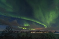 Aurora bisa dinikmati saat musim dingin tiba. Waktu terbaiknya adalah September sampai Maret. (Getty Images/iStockphoto)
