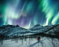 Senja yang paling indah, ya ada di Norwegia. (Getty Images/iStockphoto)
