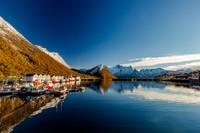 Senja adalah pulau terbesar kedua di Norwegia. (Getty Images/iStockphoto)