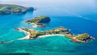 Di antara sekian banyak pulau di dunia, tak sedikit yang namanya cukup unik. Misalnya Pulau XXXX di dekat negara bagian Queensland, Australia (Pumpkin Island/Facebook)