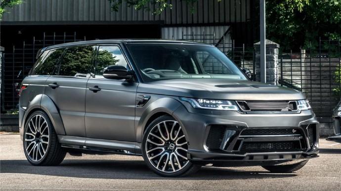 Range Rover SVR besutan Kahn Design