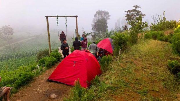 Tempat camping di Magelang.