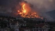 Permukiman di Yunani Hancur Diterjang Kebakaran Hutan