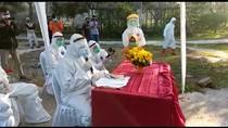 Video Akad Nikah Pasien Positif COVID-19 di Pacitan