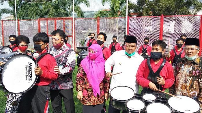 Direktur Jenderal Pemasyarakatan, Kemenkum HAM Reynhard Saut Poltak Silitonga di LPKA Bandung