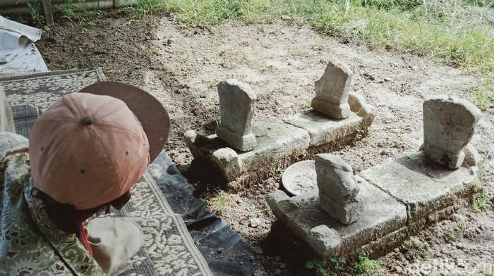 Dua makam kuno misterius di tengah sawah Prambanan, Klaten