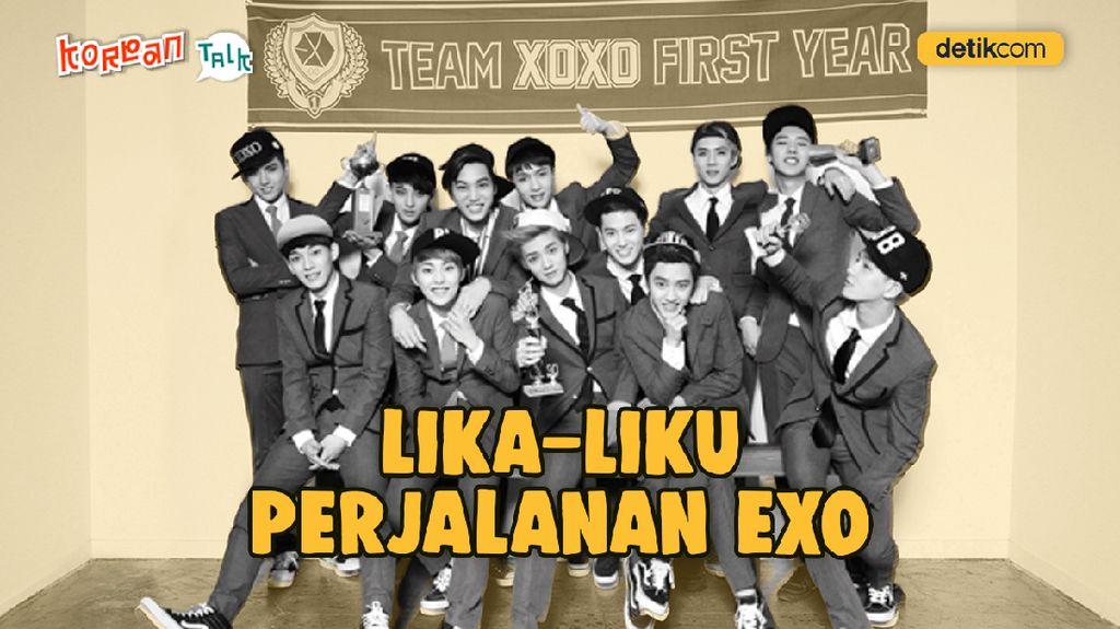 K-Talk Spesial Throwback: EXO dari Masa ke Masa