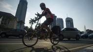 Yang Harus Dilakukan Pemotor Saat Bertemu Pesepeda Newbie di Jalan