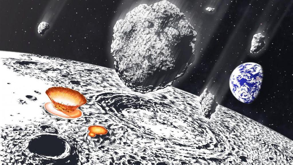 Hujan Asteroid Hantam Bumi dan Bulan 800 Juta Tahun Lalu