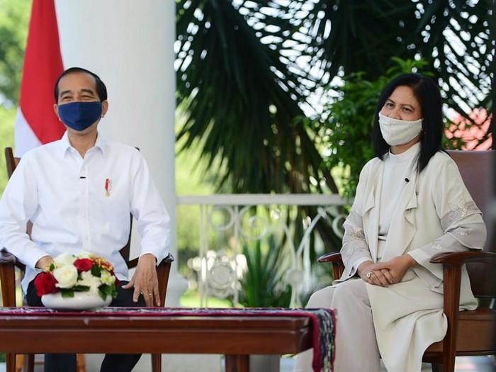 Presiden Jokowi dan Ibu Negara Iriana menyampaikan pesan khusus pada hari anak nasional 2020.