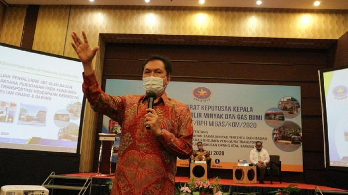 Kepala BPH Migas M Fanshurullah Asa