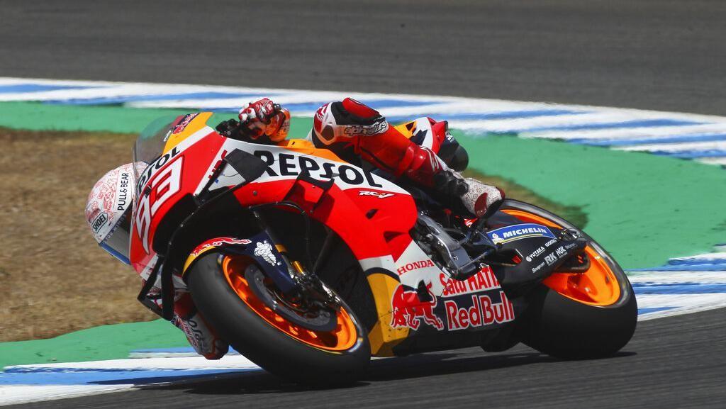 4 Kesalahan Marc Marquez di MotoGP 2020