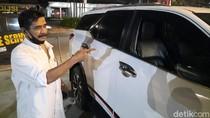 Penampakan Mobil Milik Pengusaha Zen Zanuar yang Dibobol di Kemang