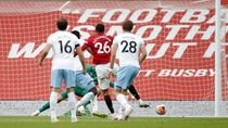 MU Vs West Ham 1-1, Setan Merah ke Posisi Tiga
