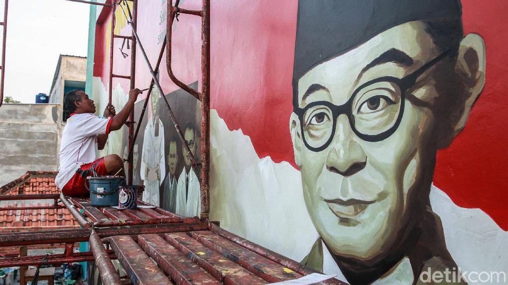 Mural Kebangsaan Mejeng Jelang Hari Kemerdekaan