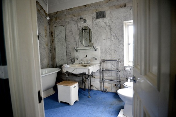 Kamar mandi mewah milik sang bangsawan. (Foto: Getty Images/Bethany Clarke)
