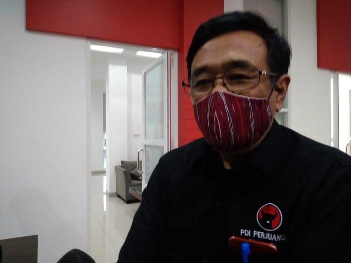 Plt Ketua PDIP Sumut, Djarot Saiful Hidayat (Datuk Haris Molana-detikcom)