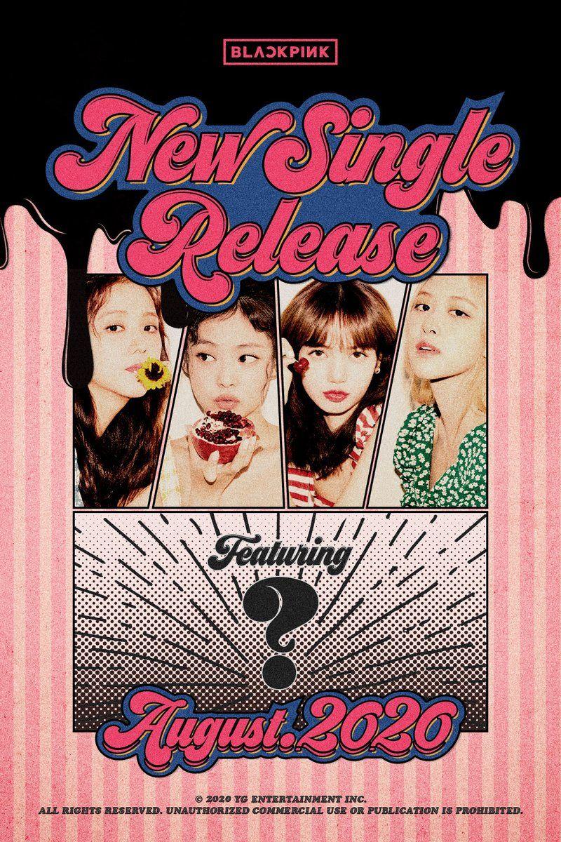 Poster comeback single baru BLACKPINK Agustus 2020
