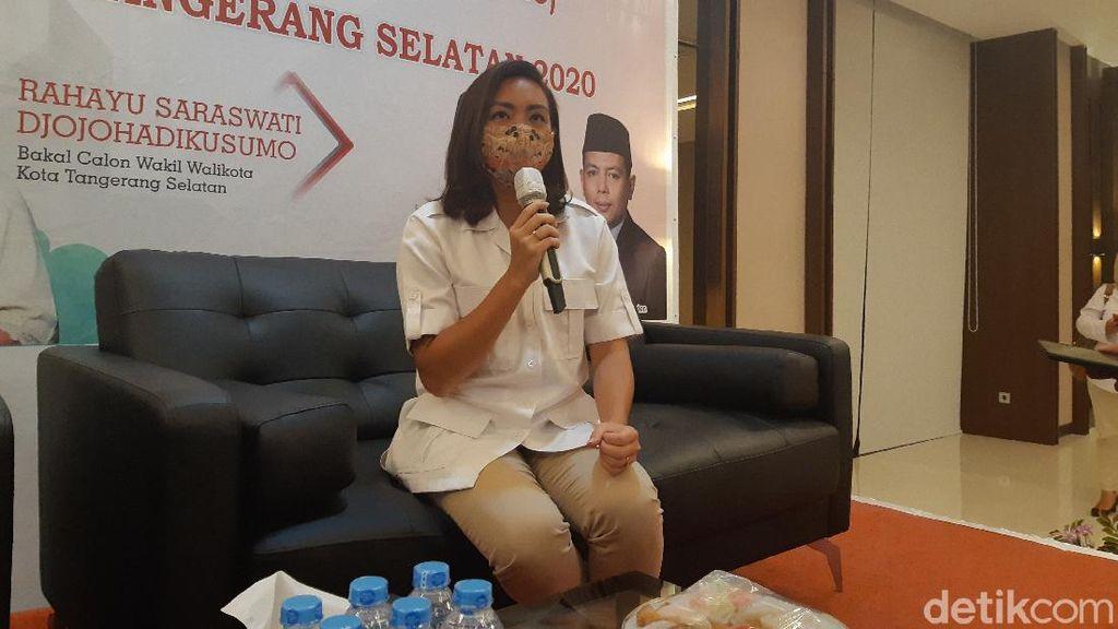 PDIP Resmi Usung Saraswati Ponakan Prabowo di Pilkada Tangsel 2020