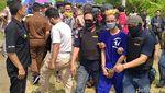 Rekonstruksi Pembunuhan ABG di Pekalongan Dijaga Ketat Polisi