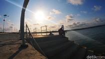 Terkini, Progres Pembangunan Pelabuhan Bojongsalawe Pangandaran