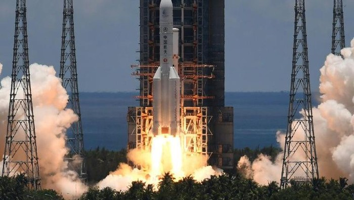 Tianwen-1 yang diluncurkan China (AFP Photo)