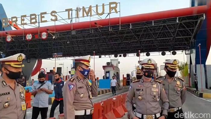 Tol gate Brebes Timur (Breksit), Jawa Tengah, Kamis (23/7/2020).