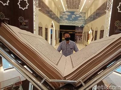 Langka, Al-Quran Kuno dari Daun Lontar di Museum Gusjigang