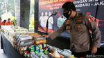 Bareskrim Polri Musnahkan Barang Bukti Narkoba
