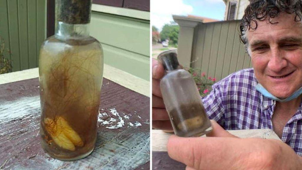 Seram! Bartender Ini Temukan Botol Berisi Air dan Gigi Misterius